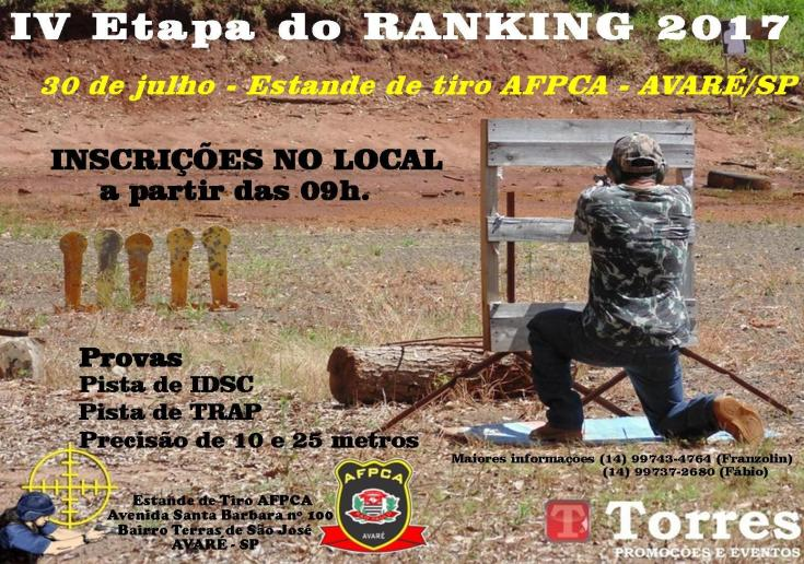 4 etapa ranking 2017 2